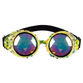 Partybril mirage festival | goud
