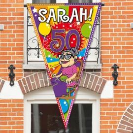 Mega vlag Sarah 90x150cm