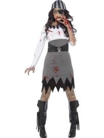 Zombie pirate jurkje