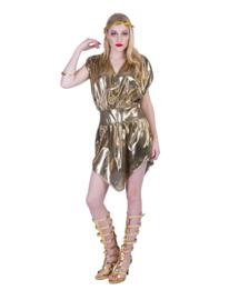 80's gouden jurkje