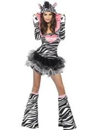 Zebra tutu jurkje