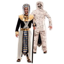 Kostuum double fun egyptenaar mummy