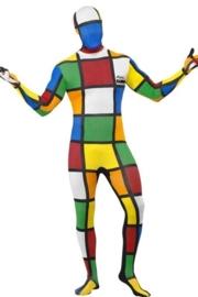 Morph suit / kostuum Rubik