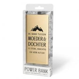 Powerbank moeder & dochter
