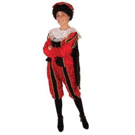 Pieten dames velours de panne kostuum