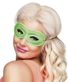 Neon oogmasker groen