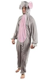 Olifanten kostuum plushe