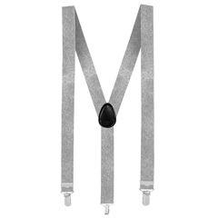Bretels basic zilver