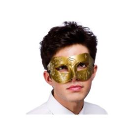 Oogmasker Rome goud