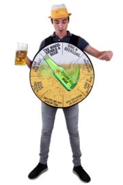 Rad van bier kostuum