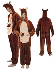 Kangaroo kostuum plushe