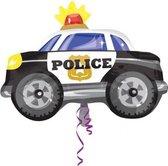 Folieballon politieauto JuniorShape