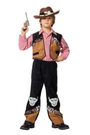 Cowboy buffalo kostuum