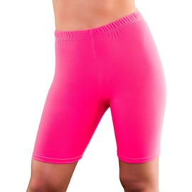 Cycling short neon pink