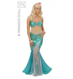 Zeemeermin jurk lady ocean