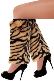 Beenwarmers plushe tijger
