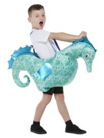 Ride in zeepaardje kostuum