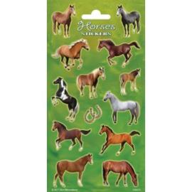Sticker vel Horses 1