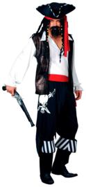 Buccaneer piraat kostuum