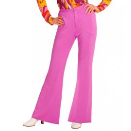 Groovy 70's  dames broek pink