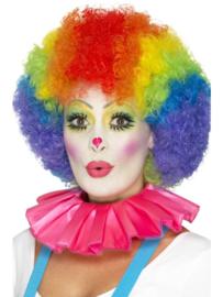 Clowns kraag pink