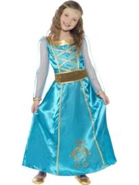 Middeleeuwse prinses jurk