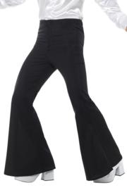 Disco broek zwart 70's