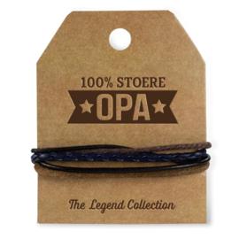Armband - Stoere Opa | Luxe