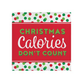 Servetten kerst humor