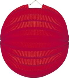 Lampion rond rood