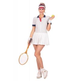 Retro Tennis outfit | fout en proud | feestkostuum