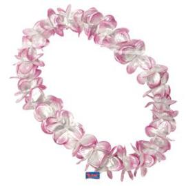 Hawaii krans roze lei