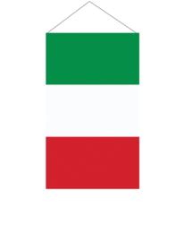 Hangende vlag Italie 40x60cm