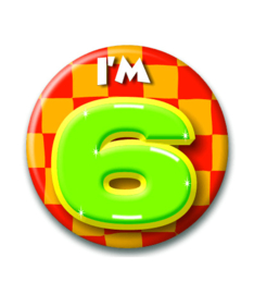 Button 6 jaar