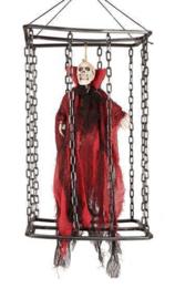 Deco vampier in kooi 50cm