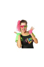 80's fout feest set