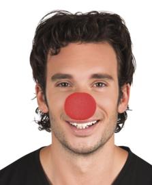 Schuimneus clown rood 12 stuks