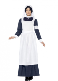 Ouderwetse verpleegster jurk