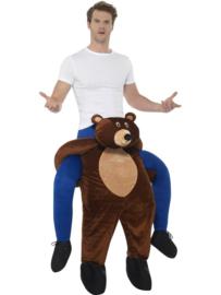 Gedragen beer kostuum
