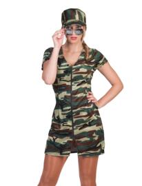 Sexy soldaten jurkje