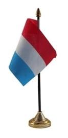 Tafelvlag Nederland zwart