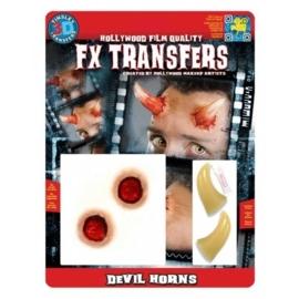 Duivels horens 3D FX transfers