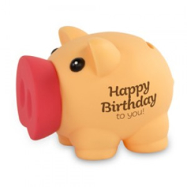 Fun spaarvarken Happy Birthday