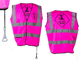 Werkvest New kids neon pink