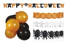 Halloween versierings set