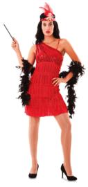 Charleston jurkje stella rood