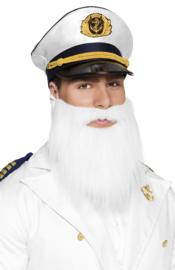 Baard wit kapitein