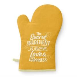 Ovenhandschoen - Love & Happiness |