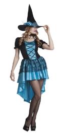 Heksen jurk Azura deluxe
