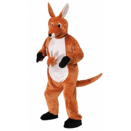 Kangaroo mascotte kostuum